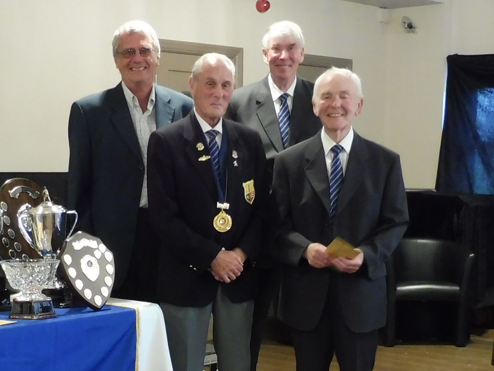 Cleanaway Triples Winners - Peter Humm, Bob Pashley and Les Roy