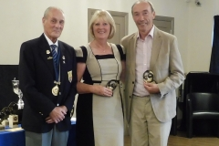 Family Pairs Runners-Up - Pat Grosvenor and Frank Guiheen