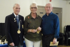 Mixed Pairs Runners-Up - Jill Bennett and Ian Foote