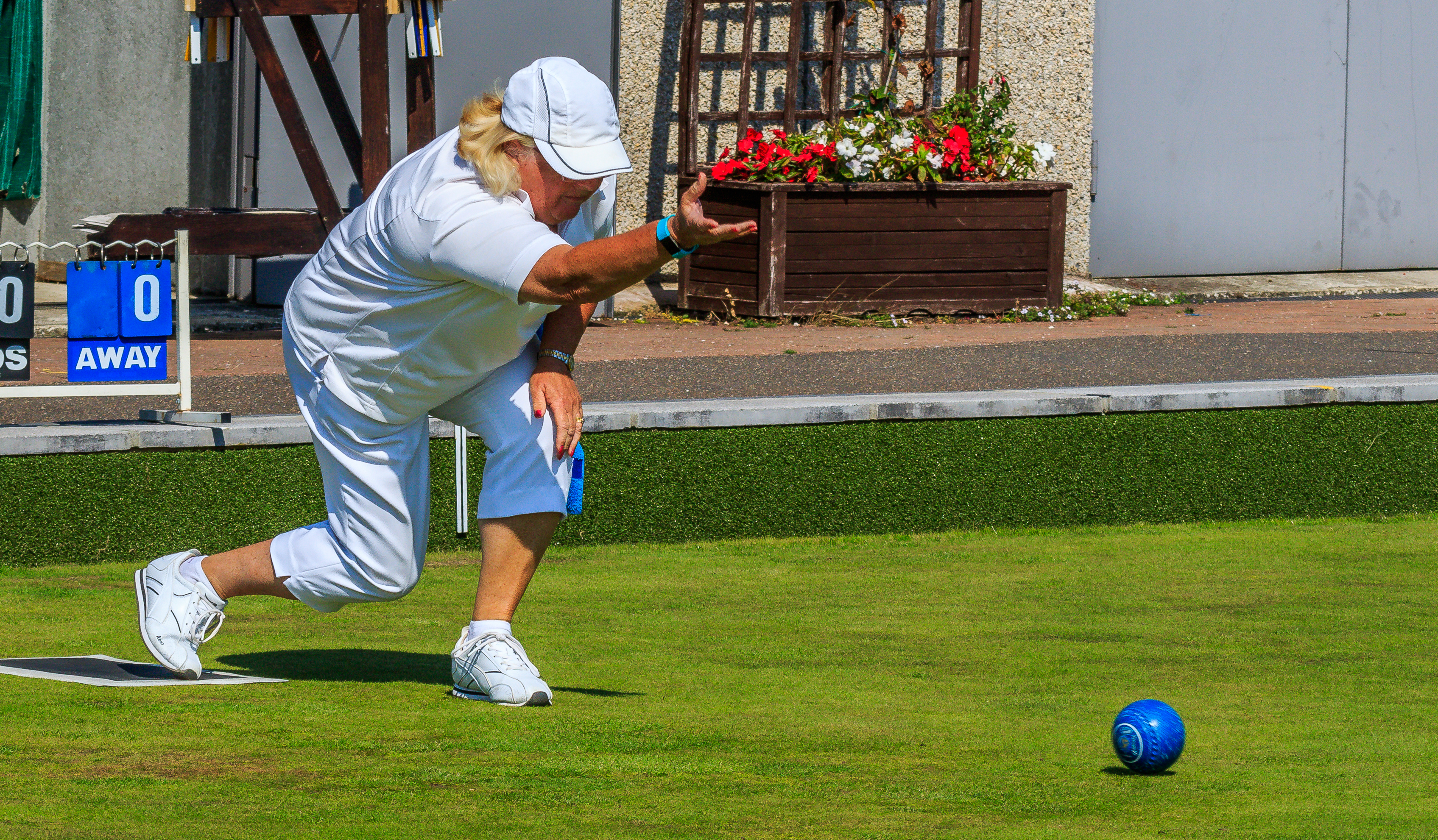 Rose Farge in Ladies Championship final