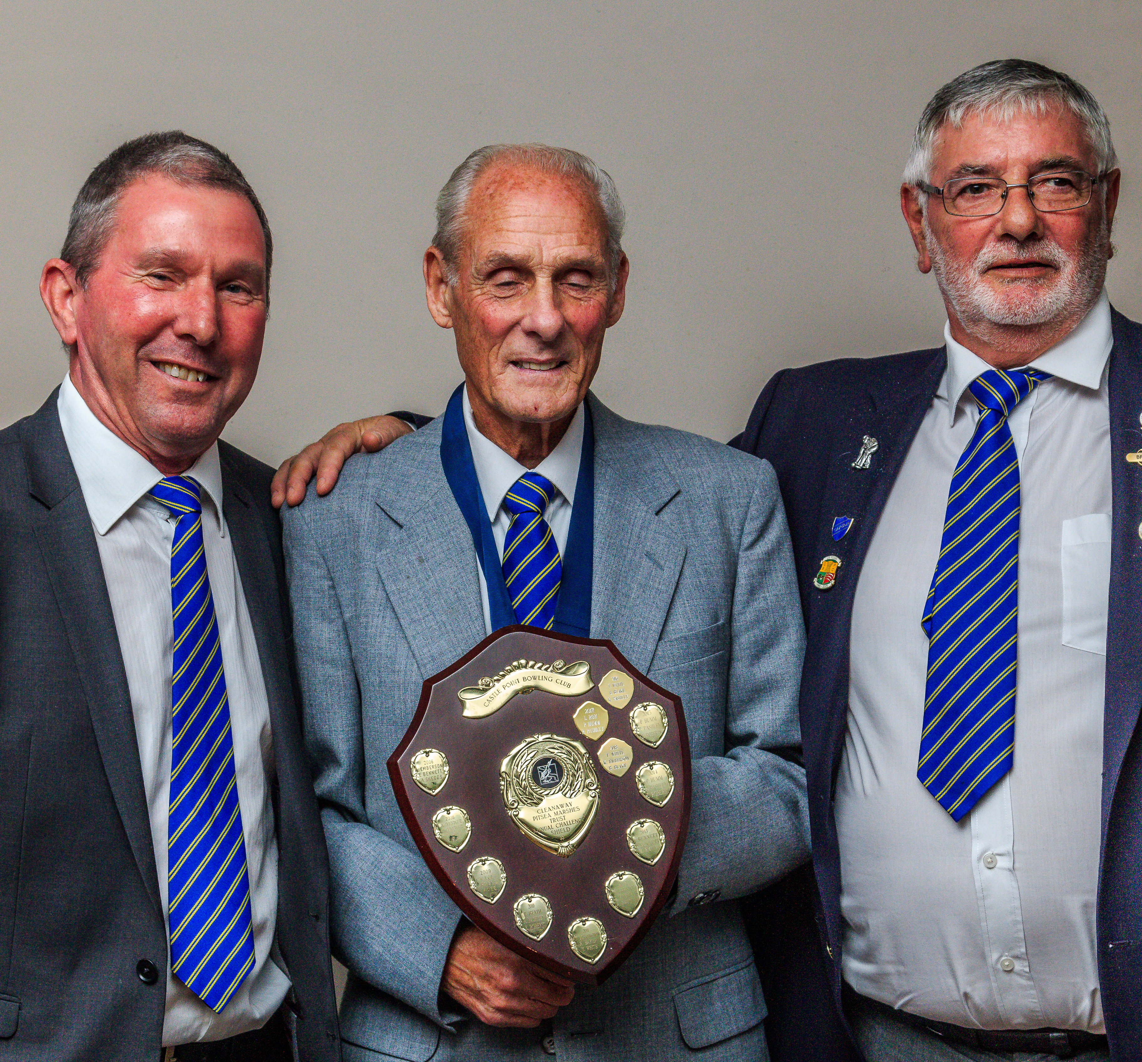 Cleanaway Triples Winners Keith Emberson, Tom White & Brian Blake